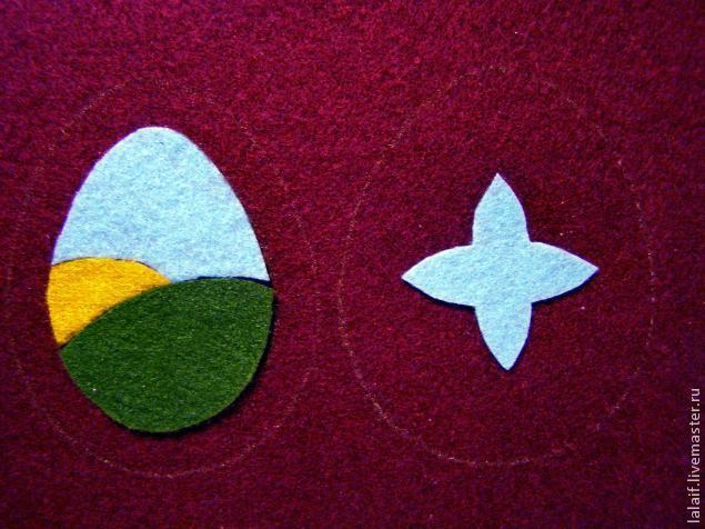 пасхальные яйца, авторская работа
