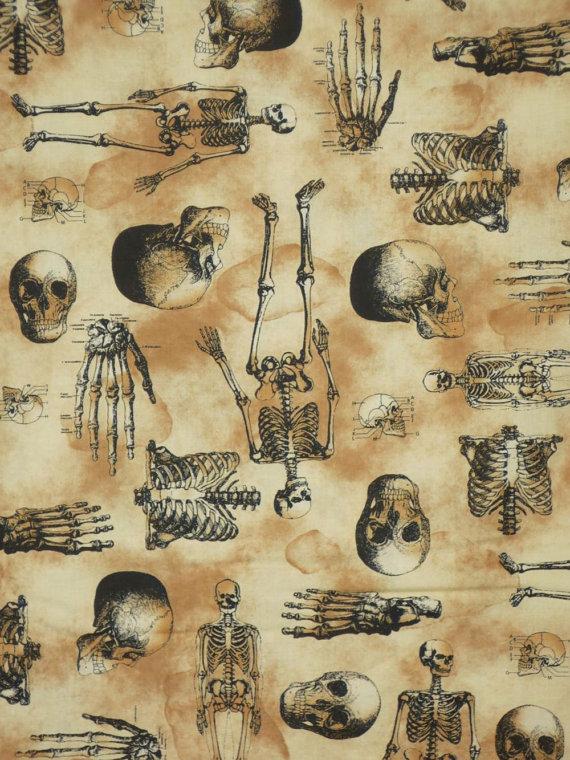 черепа, gothic, сошью юбку