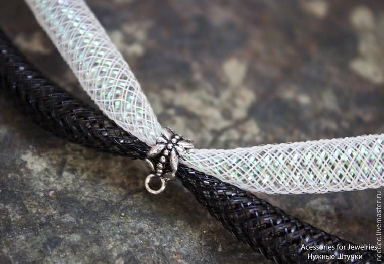necklace bijotai mesh