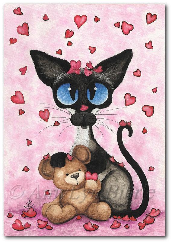 Любовь на открытках я для тебя рисовала