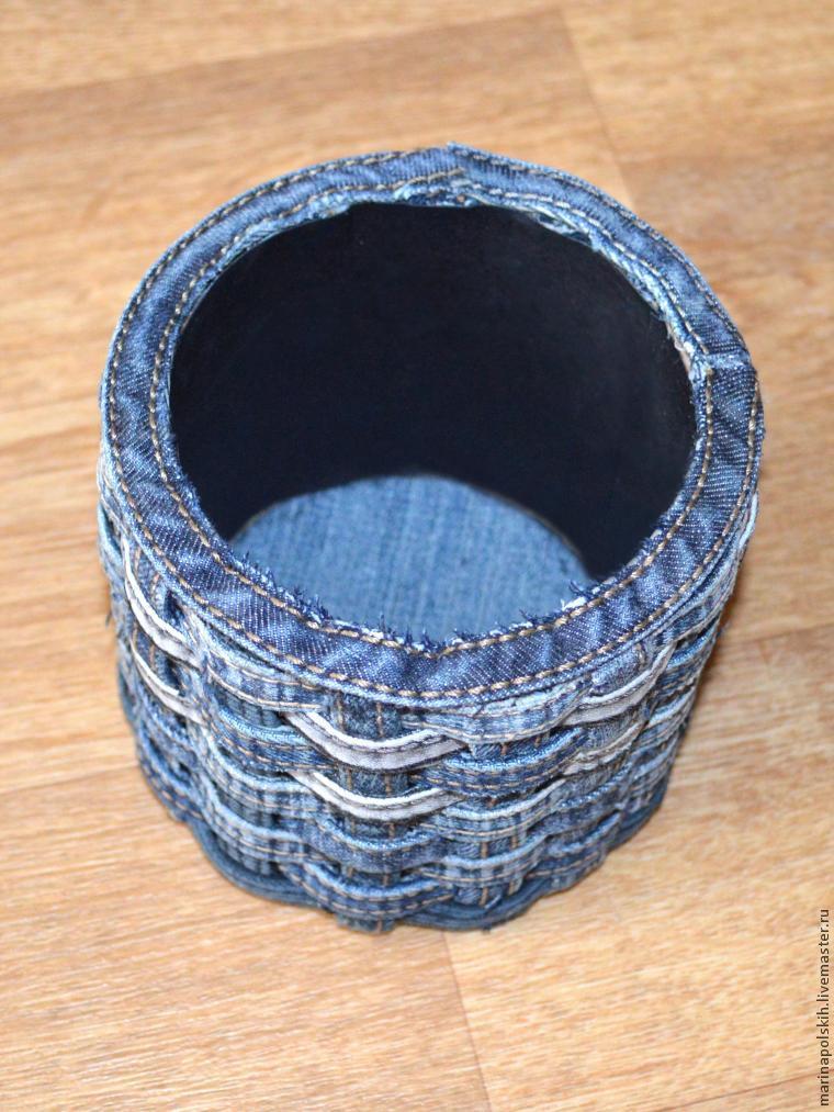 джинса своими из руками плетение