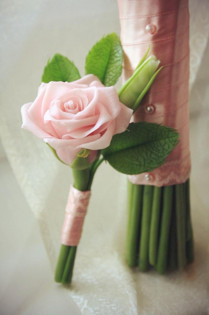 неувядающий букет, стиль рустик, прекрасная невеста