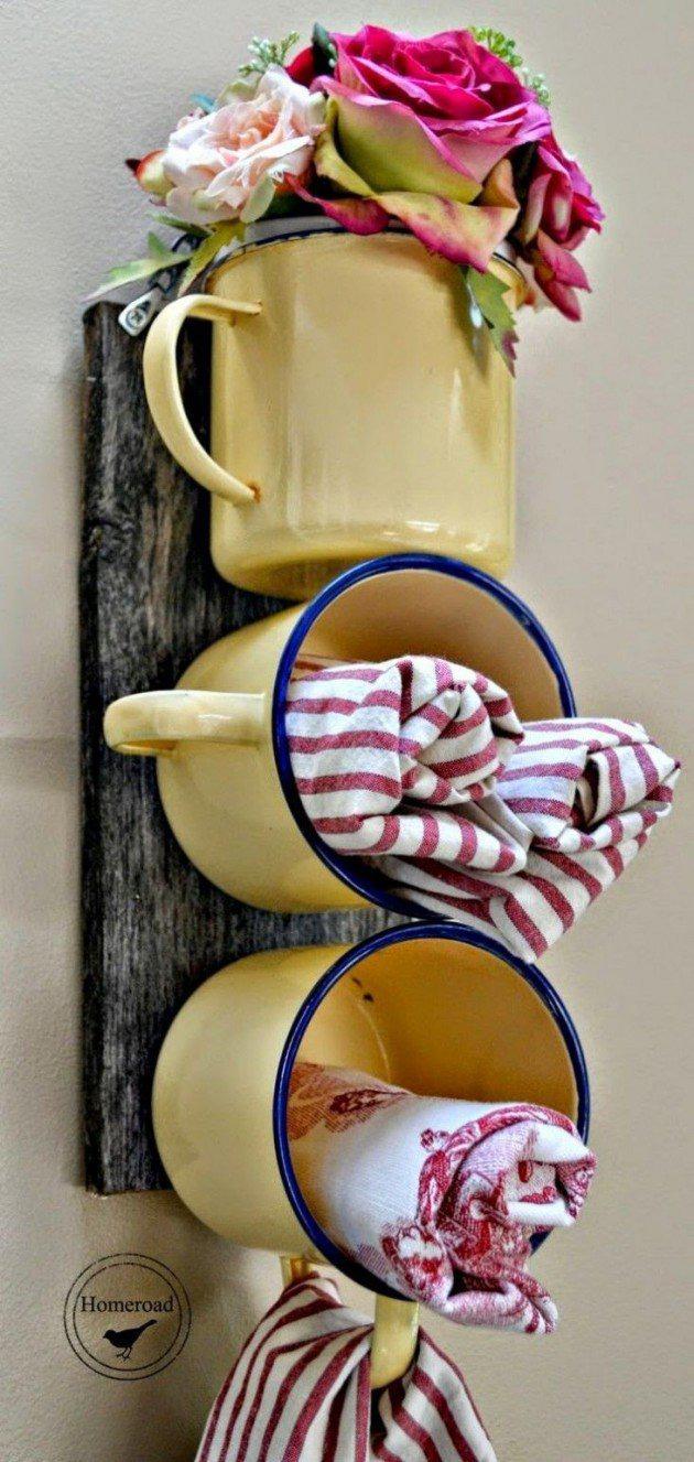 Поделки своими руками из не нужной посуды