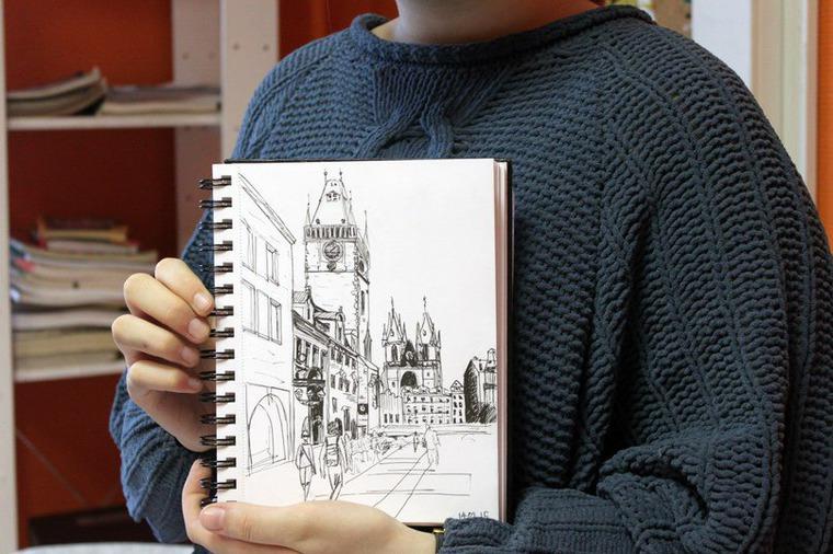 студия, обучение рисованию