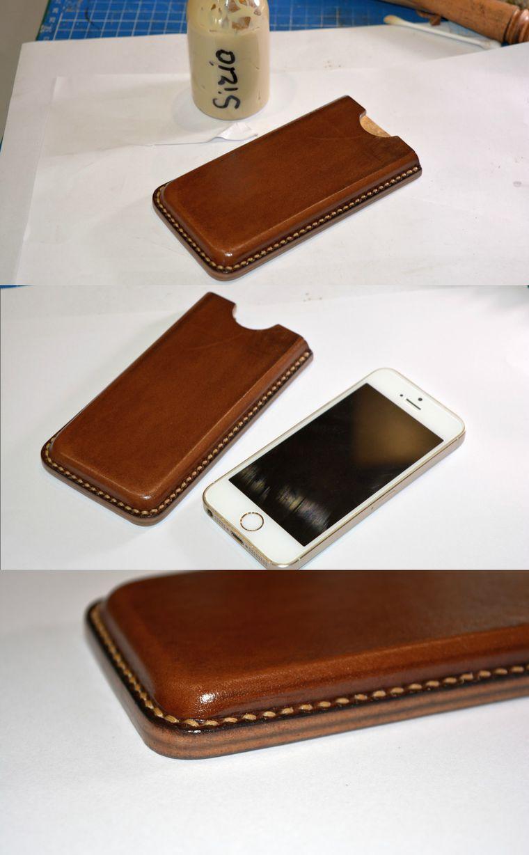 Как сделать кожаные чехлы на телефон 925