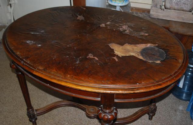 Старый стол реставрация своими руками