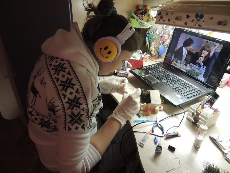 мышка из шерсти, творческая мастерская, праздники