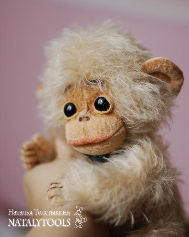 как сшить обезьяну