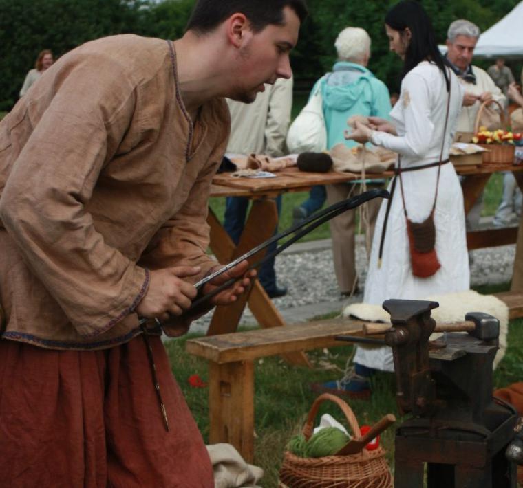 реконструкция, плетение шнура