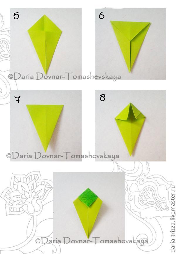 оригами, легко