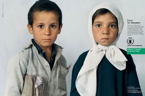 Рекламные кампании Benetton, фото № 29