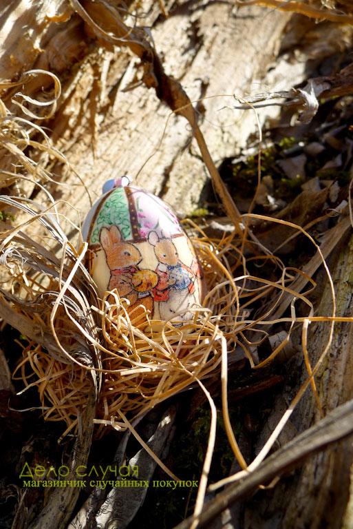 светлая пасха, кролик, пасхальное яйцо