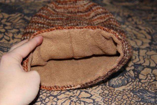 зимняя шапка шлем с кисточкой мастер класс для начинающих и