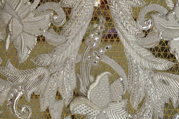 gold embroidery