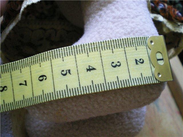 измеряем лапку