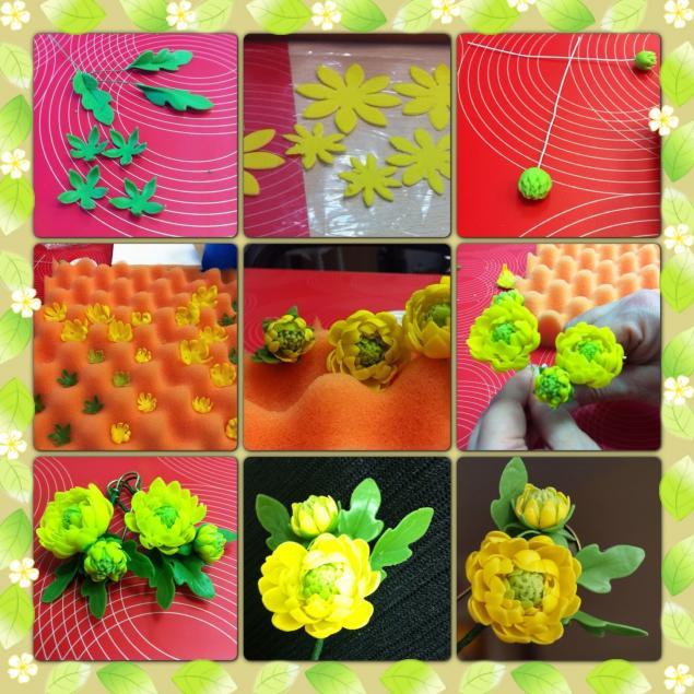 керамическая флористика, цветы