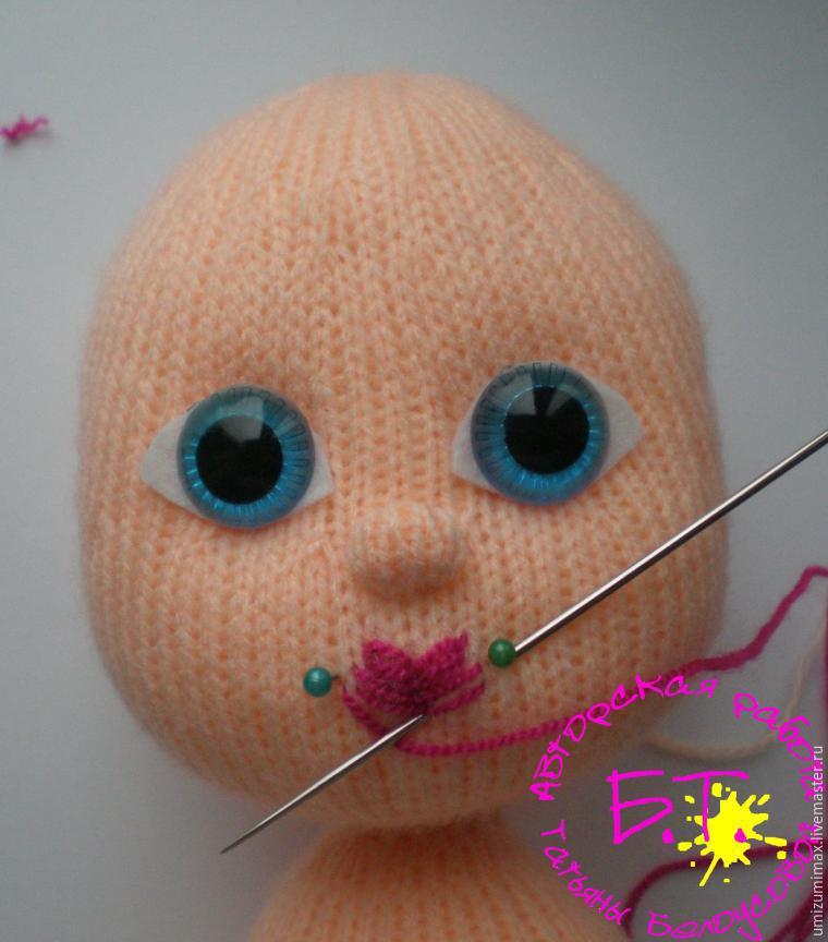Как сделать куклу из мочалок 79