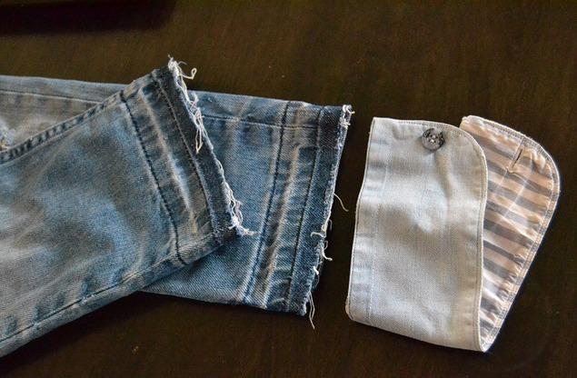 Как удлинить джинсы - 3 способа 63