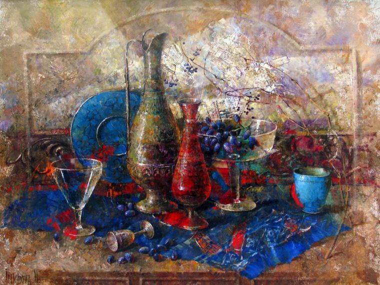 Благородная патина в современных натюрмортах Елены Ильичевой - Ярмарка Мастеров - ручная работа, handmade