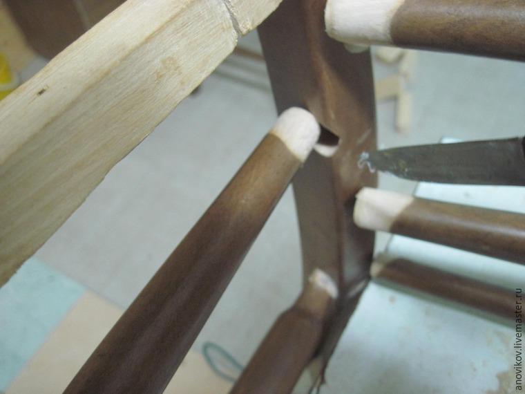 Ремонт стула  клей143