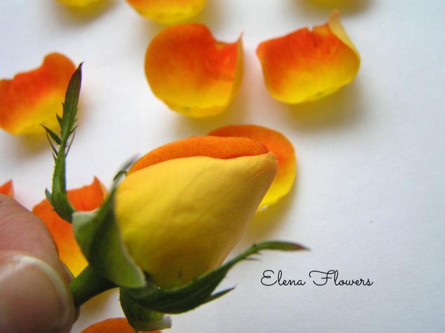 цветы из шелка, заколка для волос