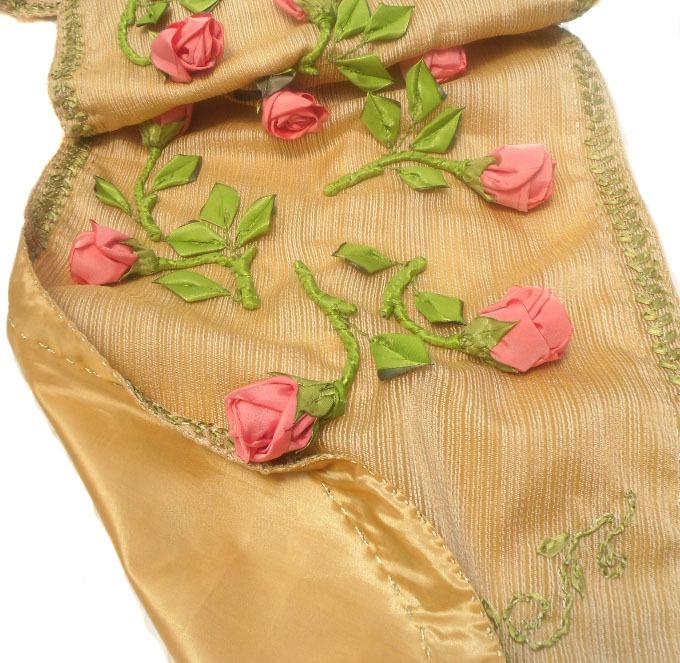 розы из ткани, украшения интерьера