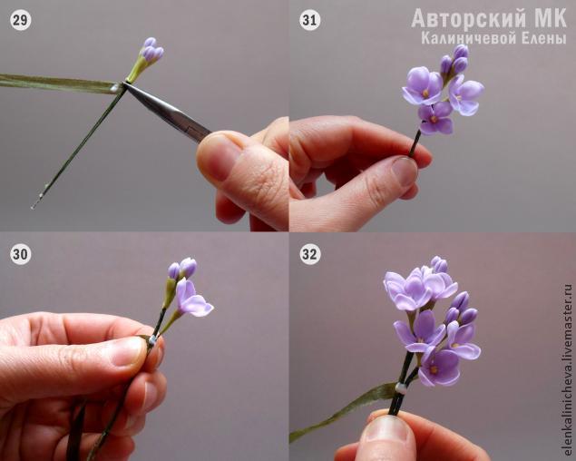 весенние цветы, авторский мастер-класс
