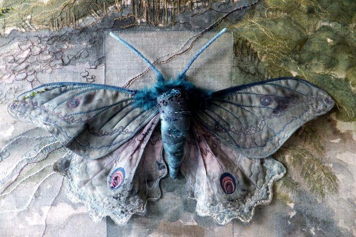 Текстильные шедевры, или Бабочки как источник вдохновения, фото № 2