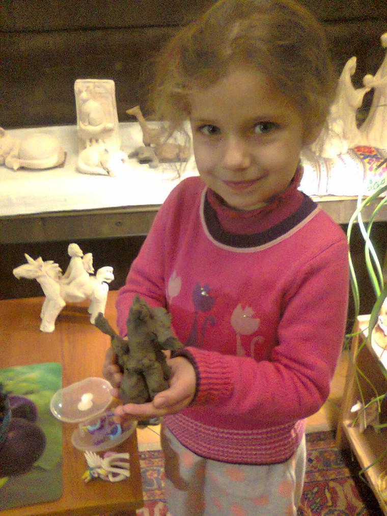 занятия лепкой из глины, глина, мастер-класс по лепке
