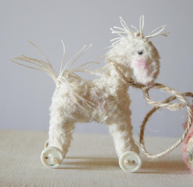 мишка, лошадь, мишка-тедди, ручная работа