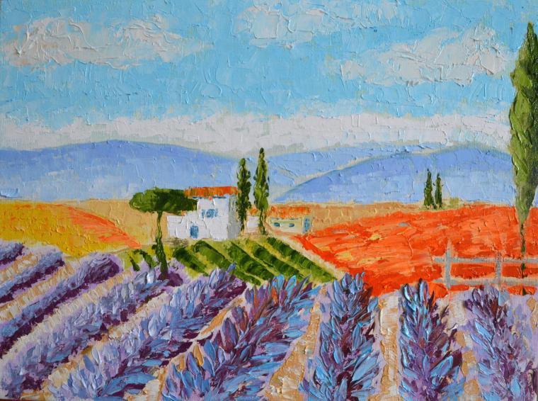 аукцион, картина, живопись, анна кшановская-орлова