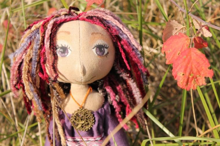 кукла в этническом стиле