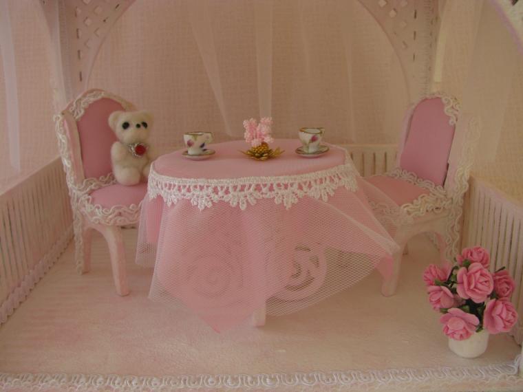 розовый, интерьерная игрушка, дом для кукол