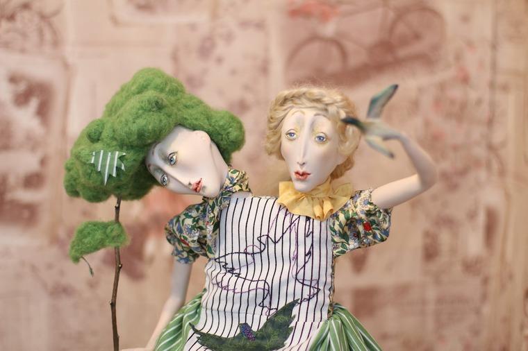 Международной выставка авторских кукол и мишек «Панна DOLL'я» в Минске. Часть 1., фото № 4