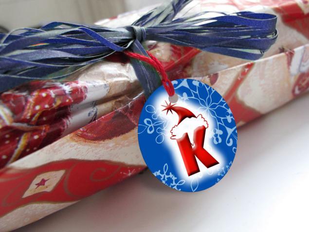 бирки для подарков, упаковка своими руками