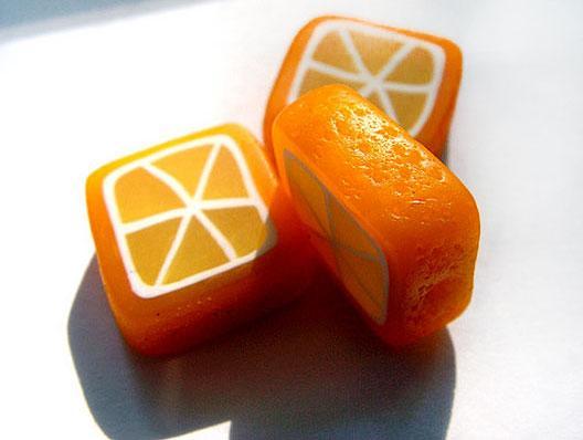 полимерная глина, мастер-класс по лепке, бижутерия мк, украшения своими руками, лимон