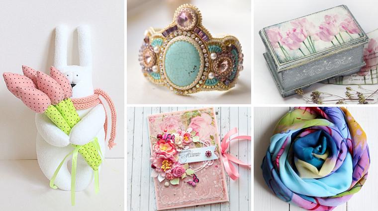 Готовимся к 8 марта: подборка сувениров и подарков к празднику ...