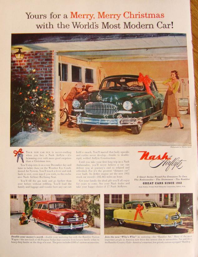 Новогодняя реклама Vintage/1951 -1956 включительно, фото № 17