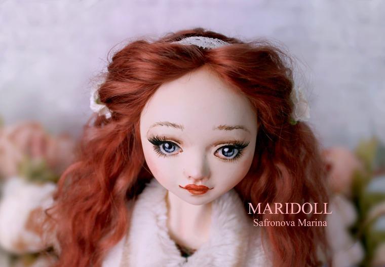 купить рыжую куклу