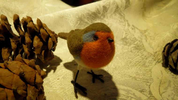 новая коллекция, птицы, зарянка