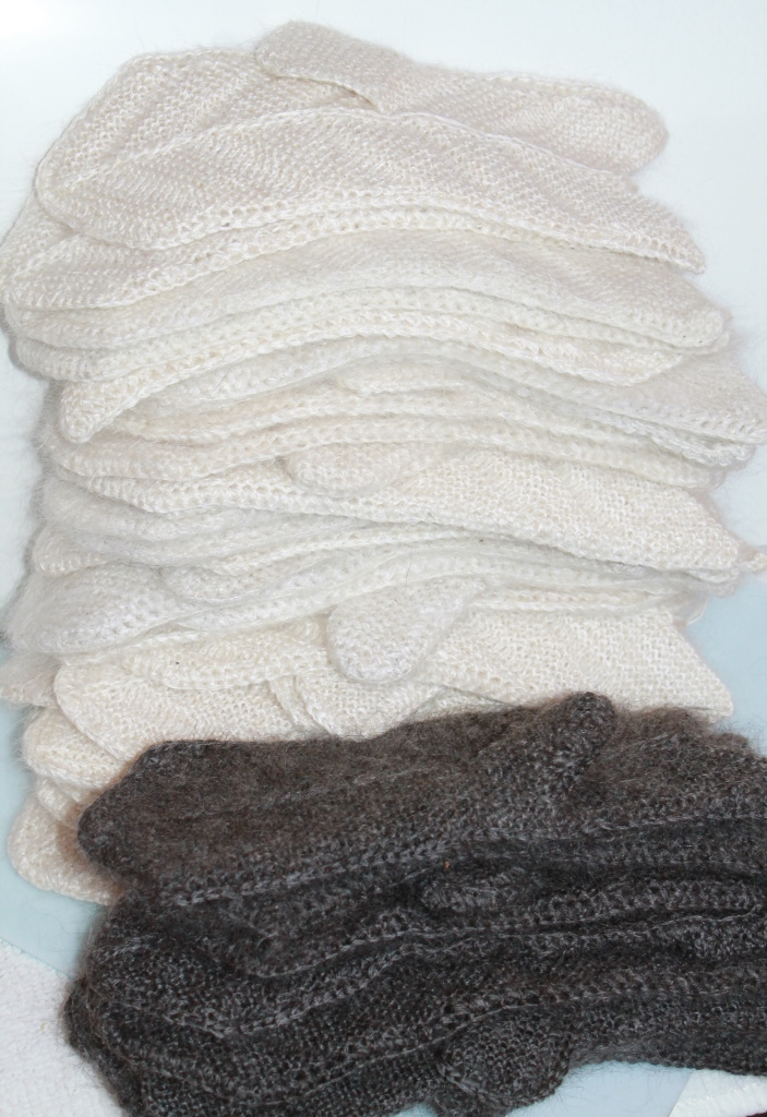 пуховая пряжа, пуховая нитка, нить ручного прядения