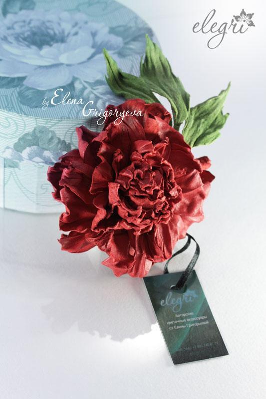 кожаное цветоделие, цветы от elegri, мастер-класс роза