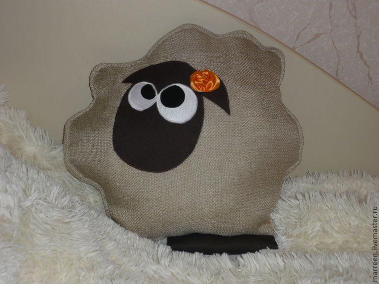 сова, символ 2015, подушка-игрушка