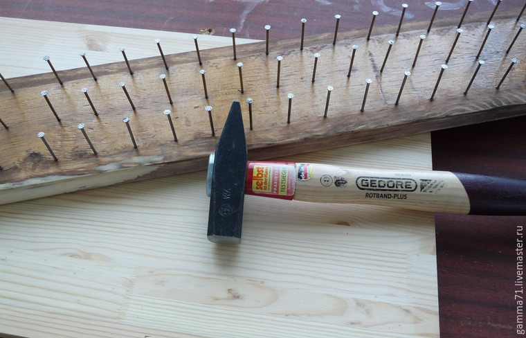 How to Make a Shelf for Spools of Thread, фото № 5