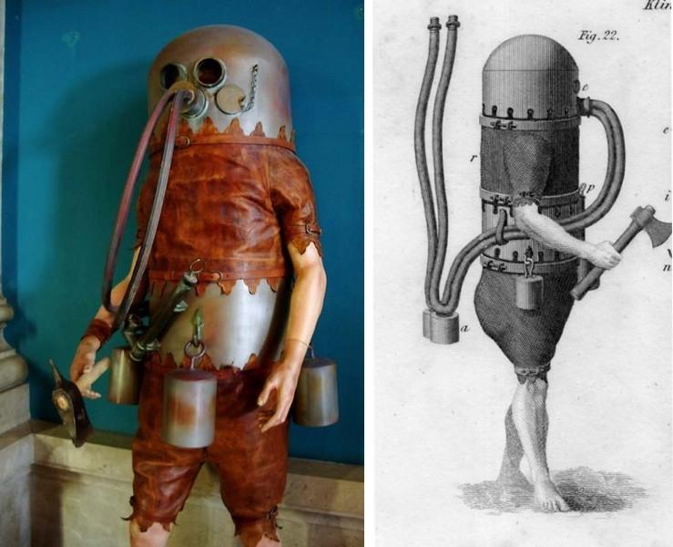 хозяйкой костюм глубоководного водолаза фото художника том