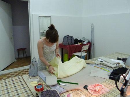 мастер-класс, шитье