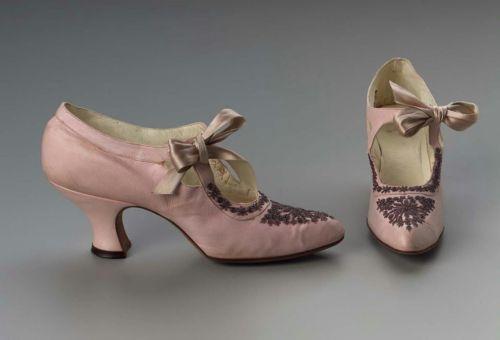обувь 19 век