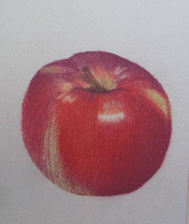 пастель, уроки рисования