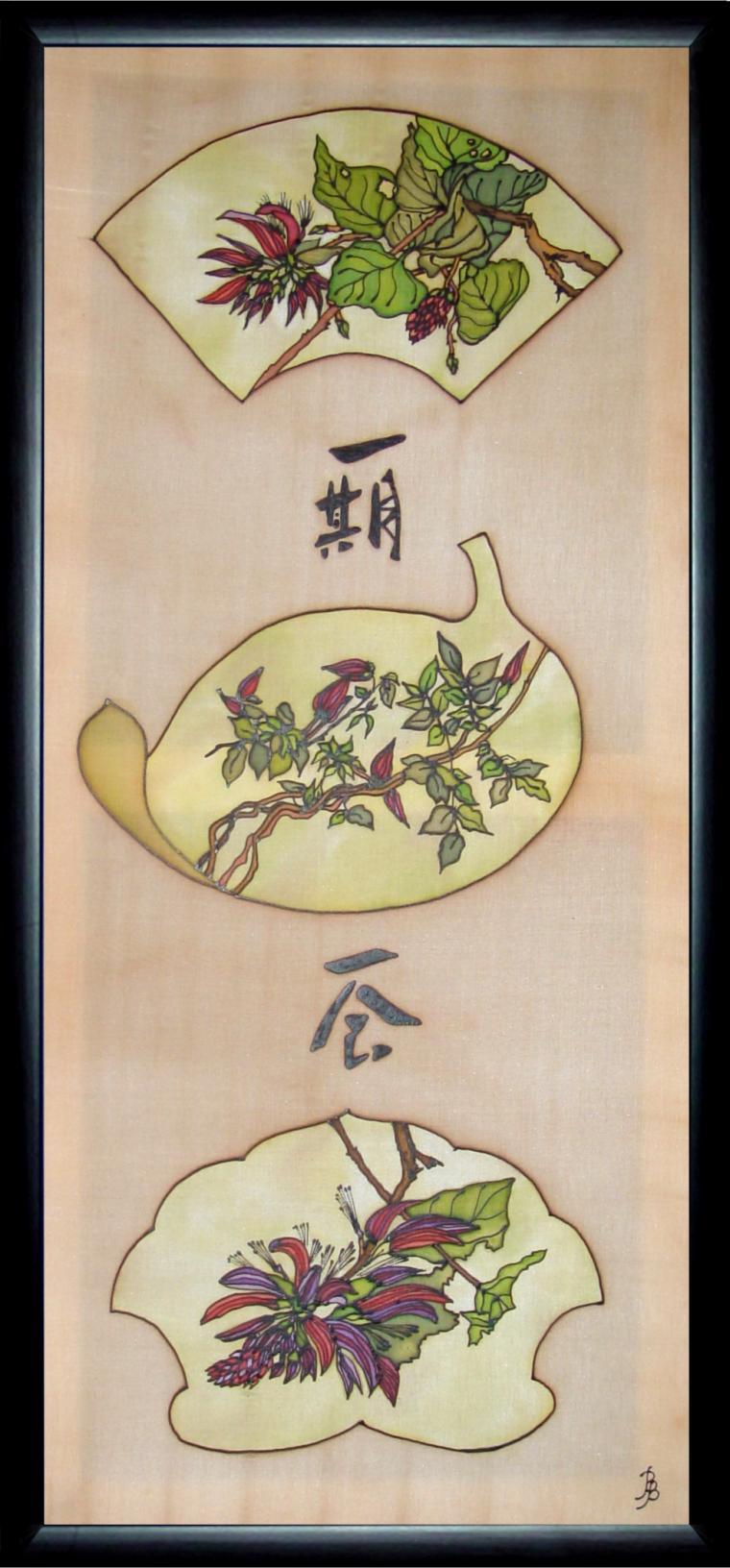 батик, японская роспись