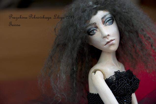 шарнирная кукла, вечер